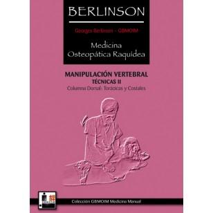 Berlinson. Medicina Osteopática Raquídea. Técnicas II
