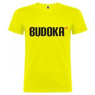 Camiseta EL BUDOKA 2.0 (amarilla)
