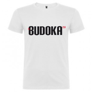 Camiseta EL BUDOKA 2.0 (blanca)