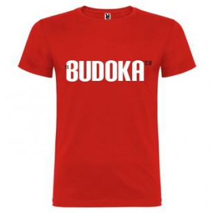 Camiseta EL BUDOKA 2.0 (roja)