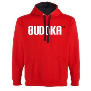 Sudadera EL BUDOKA 2.0 (roja)