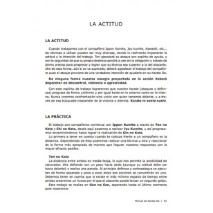 Manual de consulta para la práctica del Karate Do
