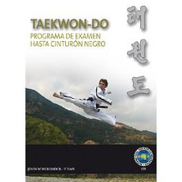 Taekwon-Do ITF. Programa de examen hasta cinturón negro